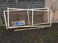 Tipper truck cage sides