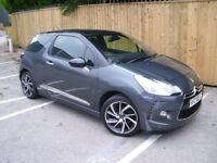 MINT 2015 CITROEN DS3 STYLE PLUS ~ ONLY 22000 MILES ~ FSH ~ mini fiesta corsa clio i20 i30 a1 ceed