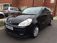 2007 Renault Clio dci, £30 tax, 1 owner, long mot , Bargain