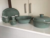 Denby Regency Green Pottery