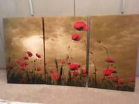 Canvas set of 3