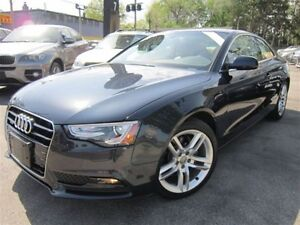 2013 Audi A5 2.0T PREMIUM/NAVIGATION/QUATTRO/50KMS/SUNROOF/AWD