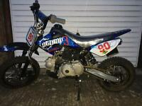 Stomp 90cc pit bike brand new