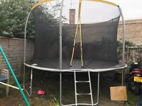 12ft Trampoline with Safety Net