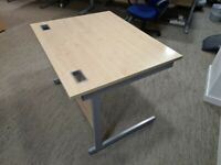 FREE SAME-DAY DELIVERY - Lee & Plumpton 1000mm Straight Office Desks