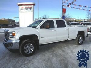 2015 GMC Sierra 3500HD SLE Crew 4x4-Backup Cam-8ft Box-6.0L Gas
