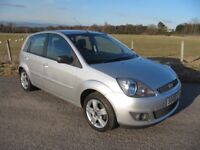 Ford Fiesta 1.2 Zetec Climate 5 door. ONLY 66,000 miles ~ YEARS MOT ~ FSH ( 7 stamps ) ~ VGC
