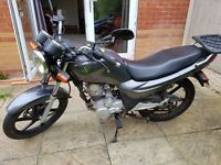 2013 Learner legal Sym XS 125 cc geared motorbike - brand new MOT, based on Yamaha CBR