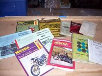 Various retro workshop manuals