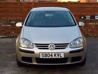 2004 VW GOLF 5DOORS-1.4, 85000 LOW MILES/FULL VOSA HISTORY,TWO OWNERS,MOT FEB 2018,VERY CLEAN CAR