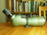 Kowa TSN-773 Spotting Scope, 20-60x zoom eyepiece. Perfect optics. No external marks. With tripod.