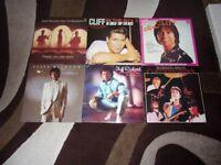 6 CLIFF RICHARD VINYL LP RECORDS. EXCELLENT CONDITION