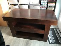 FREE Solid wood tv unit . Good upcycle project