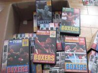 72 BOXING VIDEOS ALI, FRAZIER, MARCIANO ETC