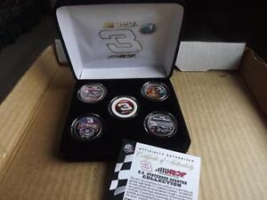 FS: 2001 Dale Earnhardt (North Carolina) Statehood 5-Coins Set