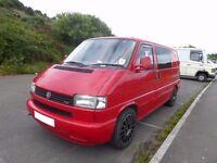 VW T4 Transporter 2.5TDI (intercooler) camper/day van