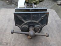 Record 52 1/2 heavy duty vice Very good condition and quick release. Pick up Matlock or Nottingham