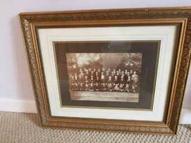 Framed Old Choir Photograph Christchurch Choir 1913