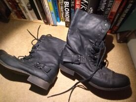 Industrial style Boots