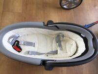 Britax lie down baby car seat