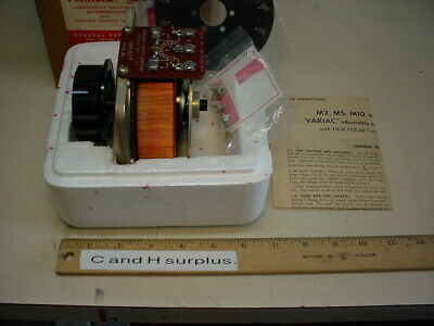 General Radio Type M5 Variac 400 Cycles 6 Amps