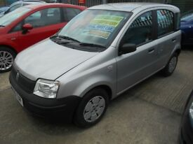 fiat panda 1.1 active 5dr 2005 model 63,000 genuine miles from new,12 months mot on purchase
