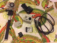 GoPro Hero 2 plus accessories