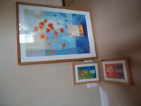 3 PICTURES BY KIRSTY WITHER IN IKEA RIBBA FRAMES