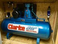 As New Clarke Industrial Compressor