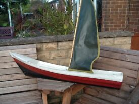 Large Pond Yacht PLUS Mould to make same