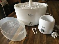 Tommee Tippee Closer to Nature electric steriliser and bottle warmer