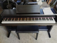 Roland Digital Electric Piano HP 1700 - With Handbook and Stool