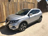 2017 67 NISSAN QASHQAI N-CONNECTA 1.5 DCI NEW SHAPE DAMAGED SALVAGE REPAIRABLE