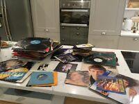Mixture of Vinyl Records - Various Artists/Genres