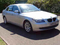 2009, BMW 5 SERIES 2.0 520D SE BUSINESS EDITION 4d 175 BHP FULL SERVICE RECORD (10 STAMPS