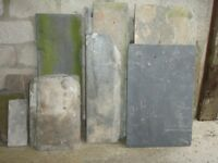 Slate-quantity of assorted slate to collect