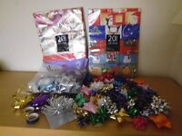100 GIFT WRAPPING BOWS