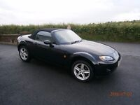 Mazda MX5 2008 78K Miles Full Leather Black