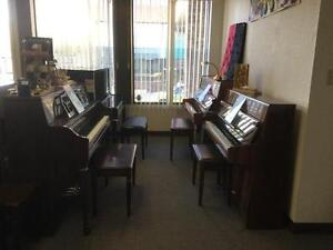 Acoustic and digital pianos starting at $899