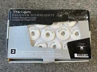 Unused Starlight Halogen Downlights - £10- Collection Pinewood