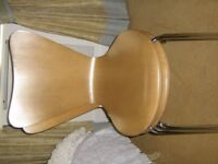 4 IKEA WOODEN CHAIRS IN GOOD CONDITION £40,