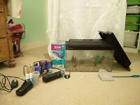 Used 25 ltr Fish Tank w/ filter and other accessories included