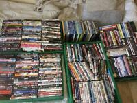 Over 300 DVD's job lot