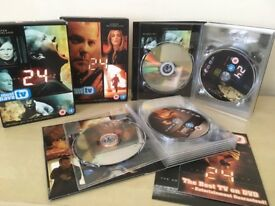 24 - Seasons 5 & 6 DVD Boxsets