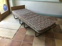 Zed bed with mattress, good condition