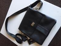 Mens leather Mont Blonc pouch and LV card holder