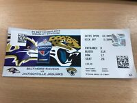 NFL Tickets Baltimore Ravens vs Jacksonville Jaguars