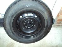 donlop tyre and rim 185-70-14 ------88h honda fit