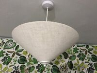 3x Ceiling lamp shades