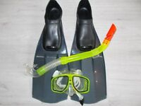 Snorkel, Mask and Flippers (Set C)